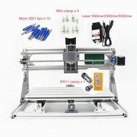 Disassembled Pack Mini CNC 3018 PRO 500mw Laser CNC Engraving Wood Carving Machine Mini Cnc Router