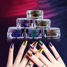 2140TMH Экологически чистая оптовая продажа оптом лучшее качество быстрое погружение зеркало хамелеон ногтей акриловый лак для ногтей