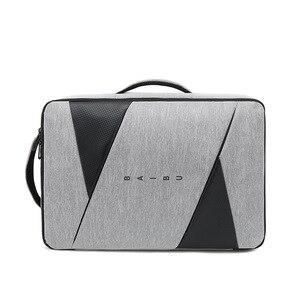 Image 4 - BAIBU الرجال على ظهره الذكور كمبيوتر محمول للأعمال 15.6 بوصة حقيبة السفر في الهواء الطلق USB شحن Mochila مدير الذكية مكافحة سرقة حقيبة الظهر