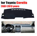 Car accessories dashboard cover Instrument platform desk cover For Toyota Corolla 2007-2013 Instrument platform desk pad