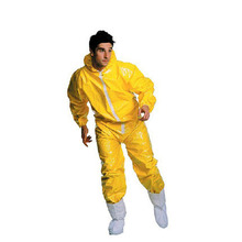 Breathable waterproof Work garments antistatic Chemical security clothes linked with spray paint Protective garments