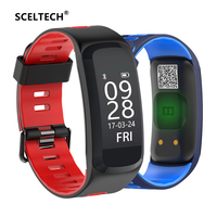 SCELTECH F4 Smart Fitness Bracelet IP68 Waterproof Blood Pressure Oxygen Heart Rate Monitor Smartband Wristband For