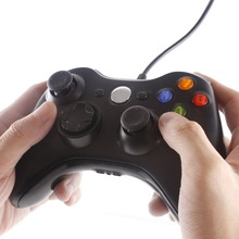 USB Wired Joypad Gamepad Black Controller For Xbox 360 Joystick For Official Microsoft PC for Home windows 7 / eight / 10