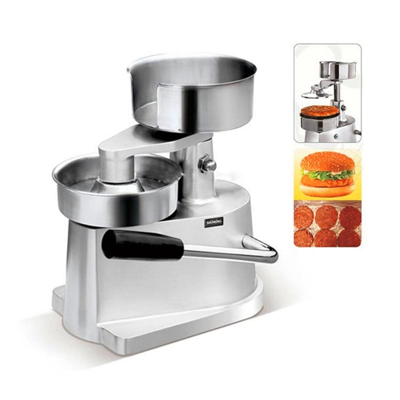 Manual burger patty making machine 100mm in diameter meat pie forming machine