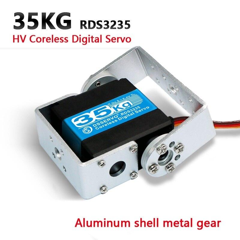 Buy 1XHV high torque Robot servo 35kg RDS3235 and RDS3135 Metal gear Coreless motor digital servo arduino servo for Robotic DIY for only 18.2 USD