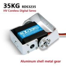 1XHV wysoki moment obrotowy serwo robota 35kg RDS3235 i RDS3135 Metal gear silnik bezrdzeniowy serwomechanizm cyfrowy arduino serwo do robotów do DIY