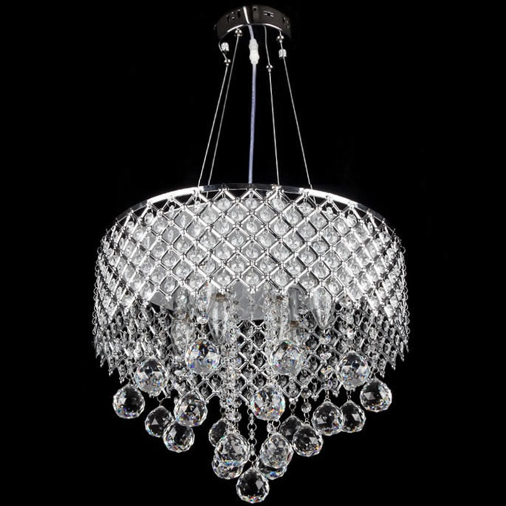 Buy Fashion K9 Crystal Pendant Light E14