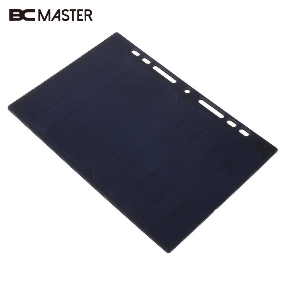 BCMaster Portable A5 Travel Energy Solar Panel DIY Battery Charger USB 5W 5V for Power Bank