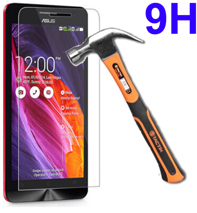 Screen protector 9H tempered glass FOR Asus ZenFone 6 T00G A600CG A601CG A 600CG A601 CG A600 CG T 00G screen protector case