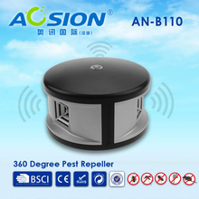 Home Aosion 360 degree ultrasonic Rats rodent mouse mice repellent and electronic cockroach Lizard pest repeller control reject
