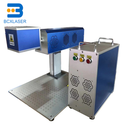 Wuhan (zawierają również te wymagające dopłaty) BCX laserowa 30 W maszyna do znakowania laserowego włókna z ekranem dotykowym maszyna do znakowania na sprzedaż w Frezarki do drewna od Narzędzia na