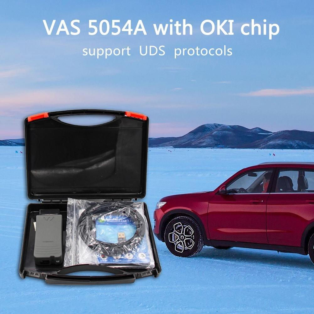 100% Original OKI VAS 5054A ODIS V4.3.3 Bluetooth AMB2300 VAS 6154 WIFI VAS5054A Full Chip V3.0.3 UDS For VAG Diagnostic tool