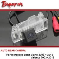 Para Mercedes Benz MB Viano Valente 2003-2015 Traseiro visão Da Câmera HD CCD Câmara de marcha Do Carro Back up Estacionamento câmera