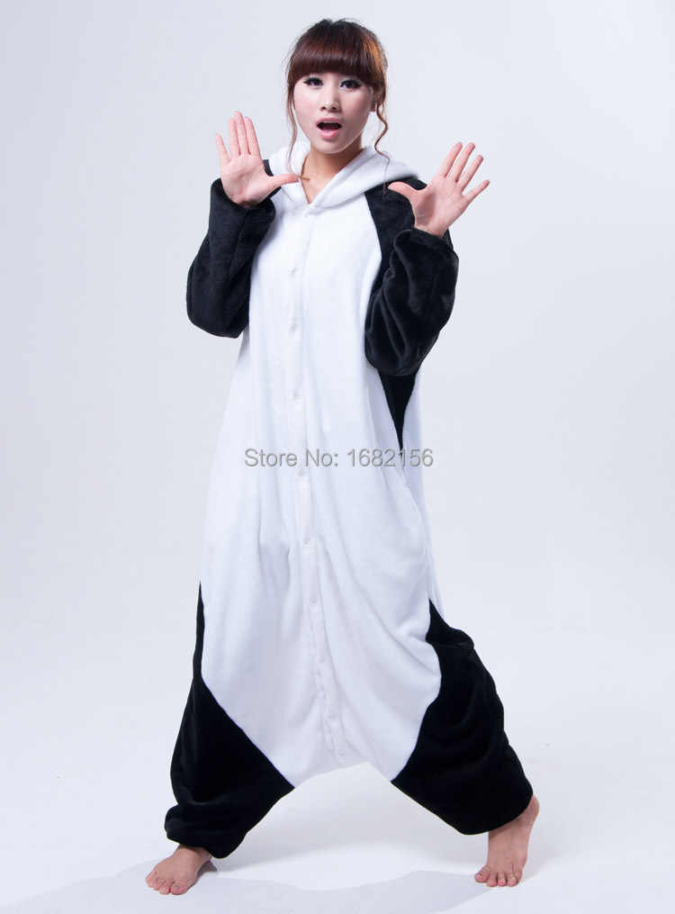 ... Кигуруми взрослых животных Кунг-фу Панда Пижамы для сна пижамы унисекс  Косплэй ... b79ccb9a737a6