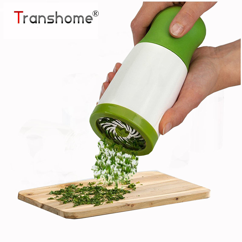 Transhome 1Pcs Herb Grinder Spice Mill Parsley Shredder Chopper Kitchen Herb Chopper Grater Cheese Grater Vegetable Tools