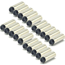 20pcs Aluminium DIY 3.8mm Laser Diode Host Case Housing w Focusable Collimator Lens 200nm-2000nm 12x30mm
