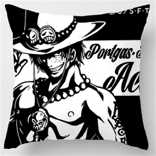 One Piece Luffy Law Sabo Ace Zoro Pillow Cover