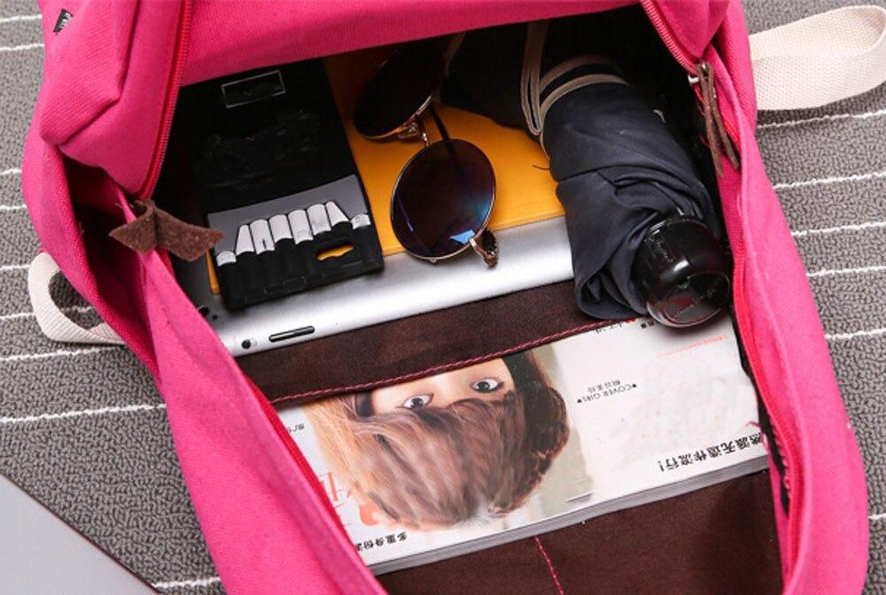 Aelicy Women Backpack For School Teenagers Girls Vintage Stylish School Bag Ladies Backpack Female Bookbag Mochila Feminina #5