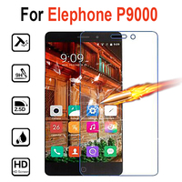 Tempered Glass Case For Elephone P9000 Premium Screen Protector Toughened Glass Anti-glare Guard Film Free Anti-Explosion 2.5D