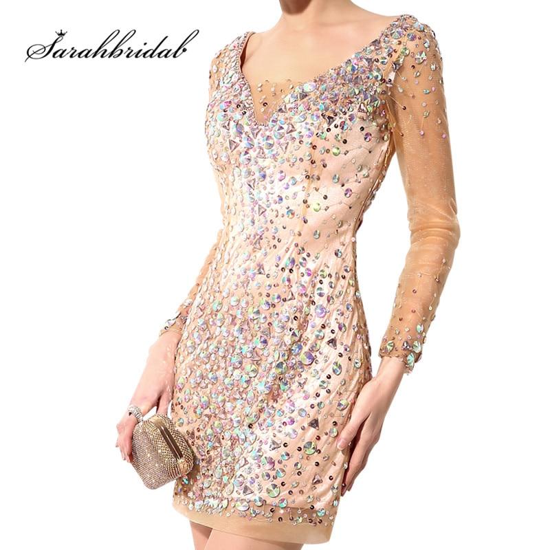 Sexy mini vestidos de celebridade brilho ouro