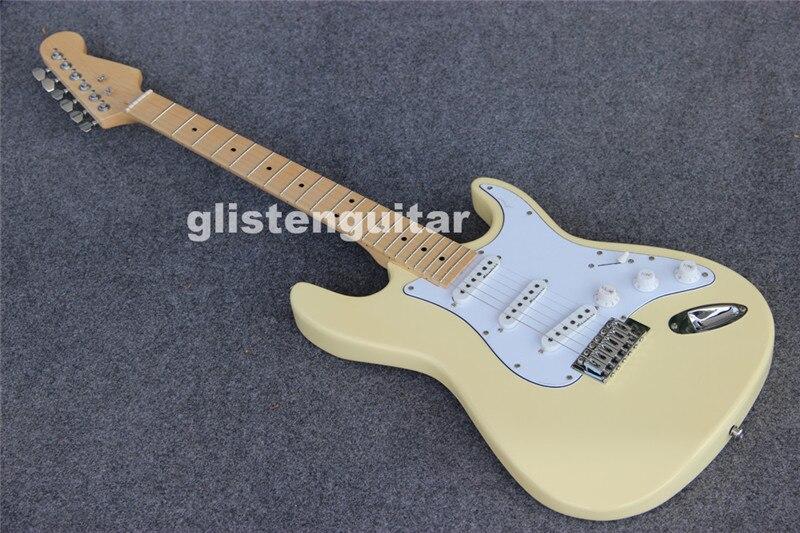 Glisten vlastní obchod levná ST elektrická kytara, floyd růže kytara
