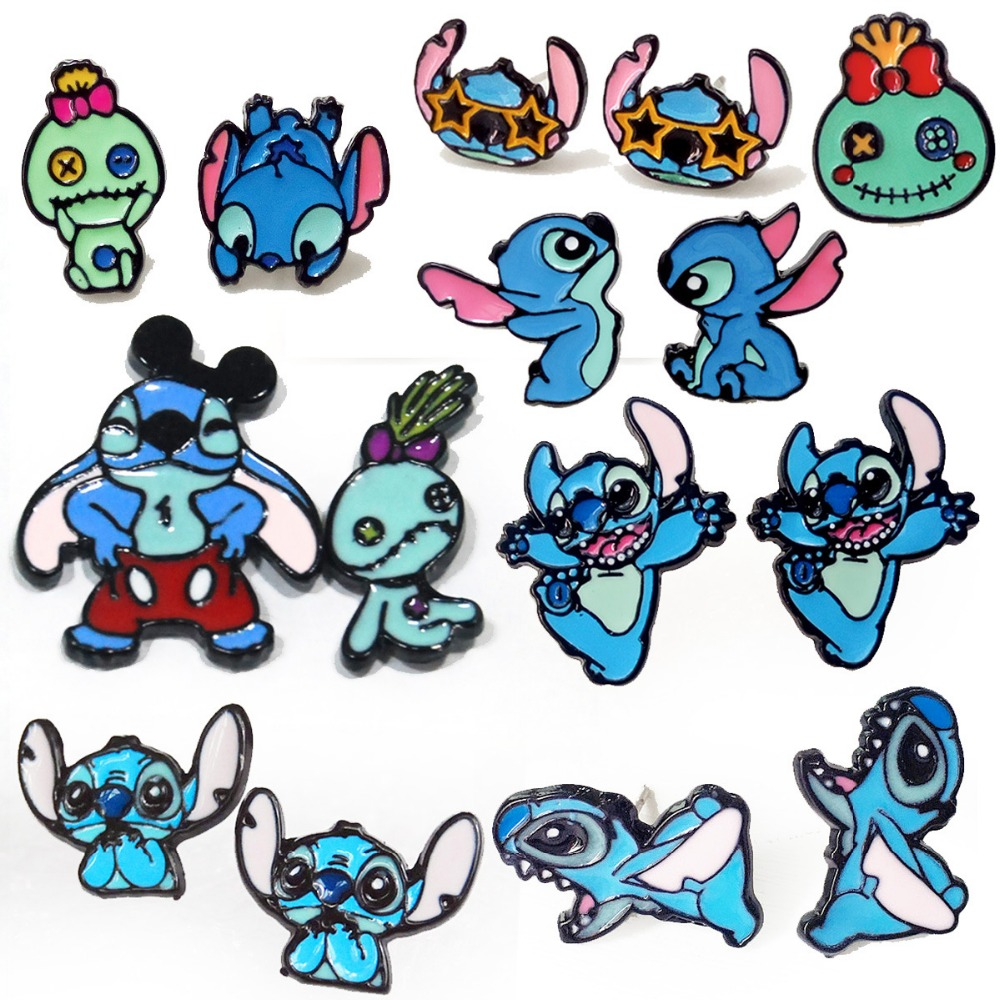 European Classic Cartoon Cute Baby Alien Stitch Female