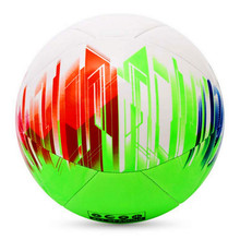2018 high quality official custom color soccer ball PU professional Bll-Size 5 game training lasting sewing football