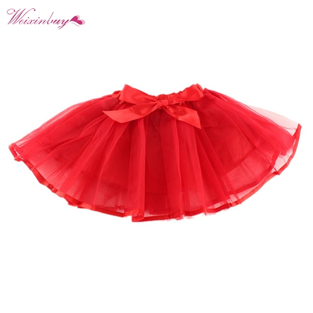 c087c44cbf7 Pelucheux Mousseline de Soie Pettiskirts Bébé 6 Couleurs tutu jupes filles  Princesse Dance Party Tulle Jupe