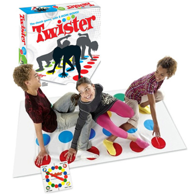 Outdoor Sports Toys Fun Twister Moves Game Play Mat Twisting Body Creative Interactive Wducational Toys Gift