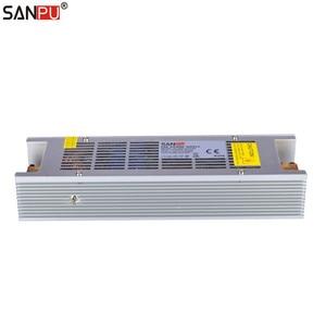 Image 4 - SANPU SMPS 300w 24v LED Driver 12a Constant Voltage Switching Power Supply 220v 230v ac dc Lighting Transformer Fanless Indoor