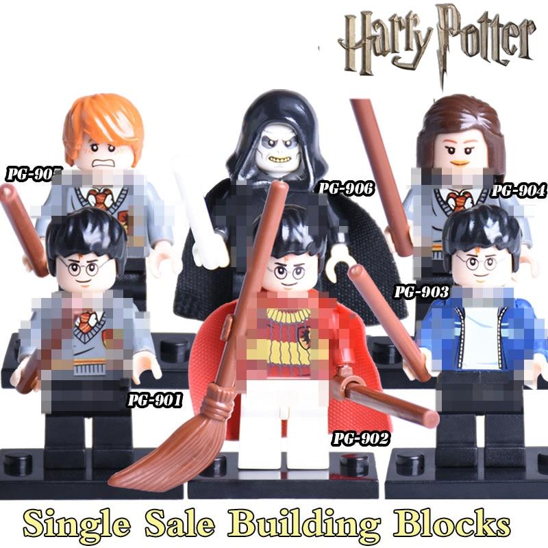 1PC Harry Potter Draco Malfoy Half-Blood Prince Ron Lord Voldemort diy figures Sets Bricks Building Blocks Kids Toys Hobbies дж к роулинг harry potter and the half blood prince