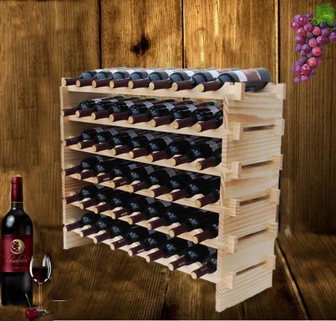 Wijnrek massief houten wijnrek mode moderne decoratie wijnrek muur in wijnrek massief houten - Mode decoratie ...