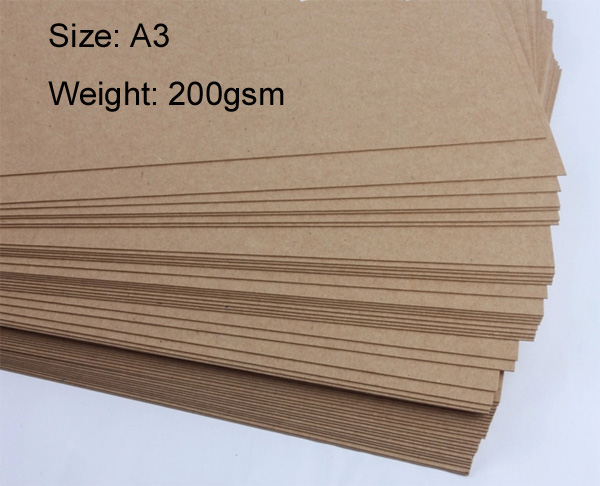 US $69 83 |200gsm A3 kraft paper large cover paper 50 sheets/lot on  Aliexpress com | Alibaba Group
