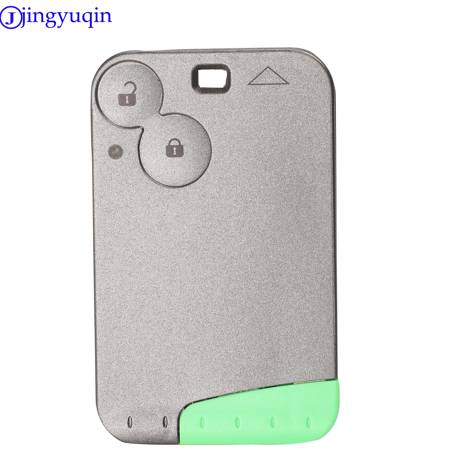 Image 3 - jingyuqin 433 MHz Pcf7947 Chip 2 Buttons Remote Car Key Card Shell Case With Blade For Renault Laguna with Uncut Key Blade-in Car Key from Automobiles & Motorcycles