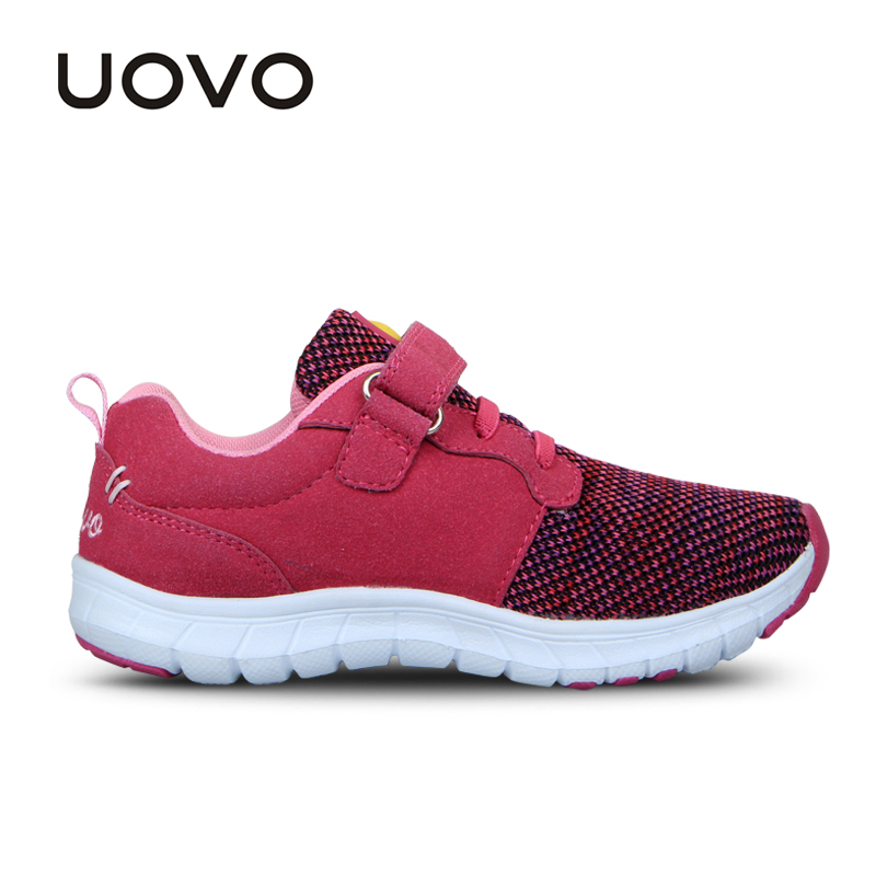 Image 4 - UOVO Spring Kids Shoes Fashion Breathable Mesh Shoes Children Sneakers For Boys And Girls Sport Running Shoes Size 27# 37#sneakers for boyschildren sneakersshoes child sneakers -