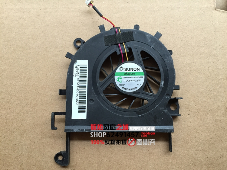 Free Shipping For SUNON MF60090V1-C100-G99 DC 5V 2.5W 3-wire 3-pin Server Laptop Fan free shipping for sunon eg50040v1 c06c s9a dc 5v 2 00w 8 wire 8 pin server laptop fan