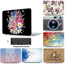 Laptop Hard Shell Case Keyboard Cover Skin Set Bag For 13 15