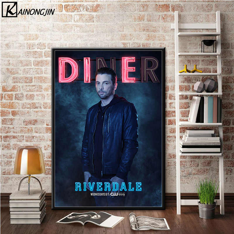 Art Poster Riverdale Movie Posters and Prints Wall Picture Canvas Painting Room Home Decoration