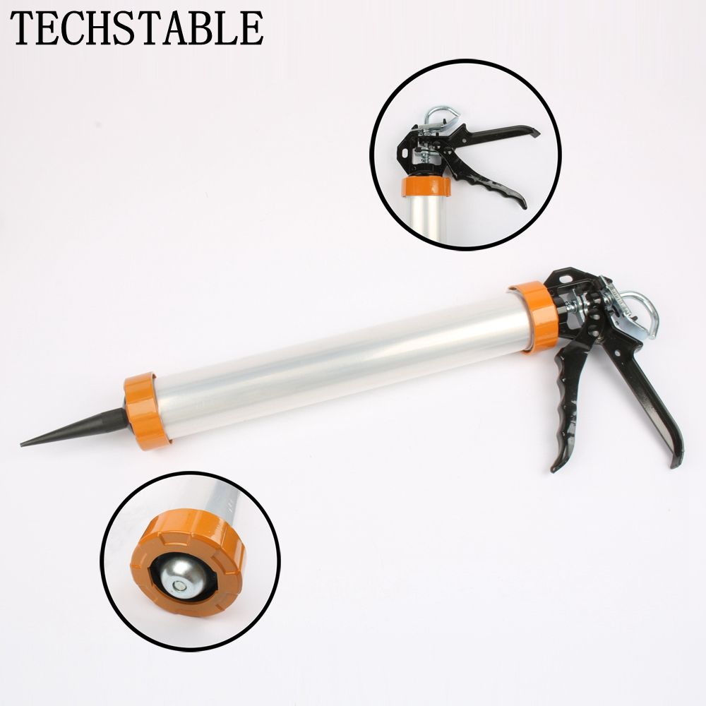 Authentic In True 168 Soft Gun Glass Glue Gun Glue Gun Caulking Gun Structure Thicker Aluminum Alloy