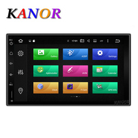 KANOR Octa Core RAM 2G 2 Din Android 6 0 Car Audio Stereo Radio For Nissan