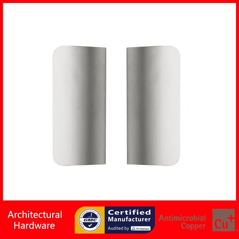 e450796ce Porta de Entrada Alça Feita De Liga De Alumínio de prata Para  Madeira Vidro Metal Portas PA-290-L170   80mm