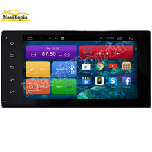 NAVITOPIA 1024*600 7 Inch Quad Core Android 4.4 Car DVD Player for Toyota Universal With Bluetooth 16GB 3G Wifi Mirror Link Maps
