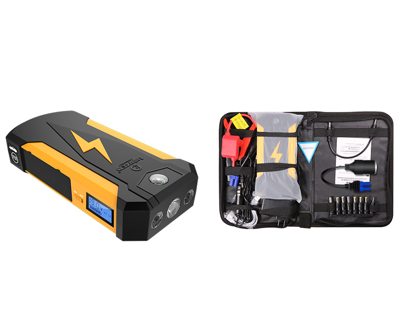 High power Portable Car Jump Starter Car Engine Emergency Battery Fast Charge mobile power supply