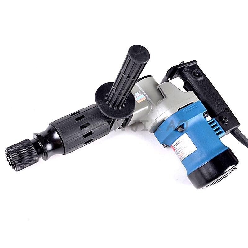 1 pieza Z1G FF 6 multifunción de mano de recogida eléctrica de 900W máquina de recogida eléctrica que astillan las ranuras de la pared de 220V - 3