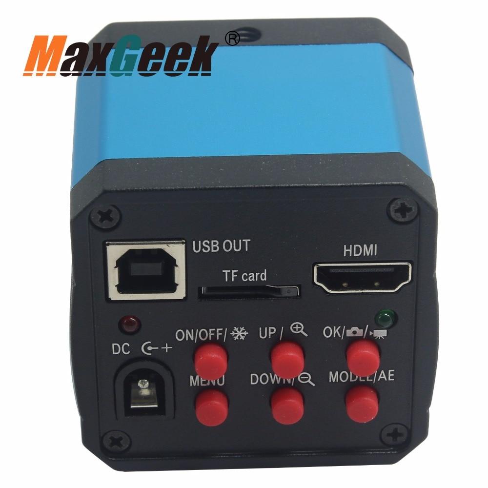 14MP CMOS Kleur Camera C Mount Video Recoder DVR voor Digitale Video Microscoop Vergrootglas - 4