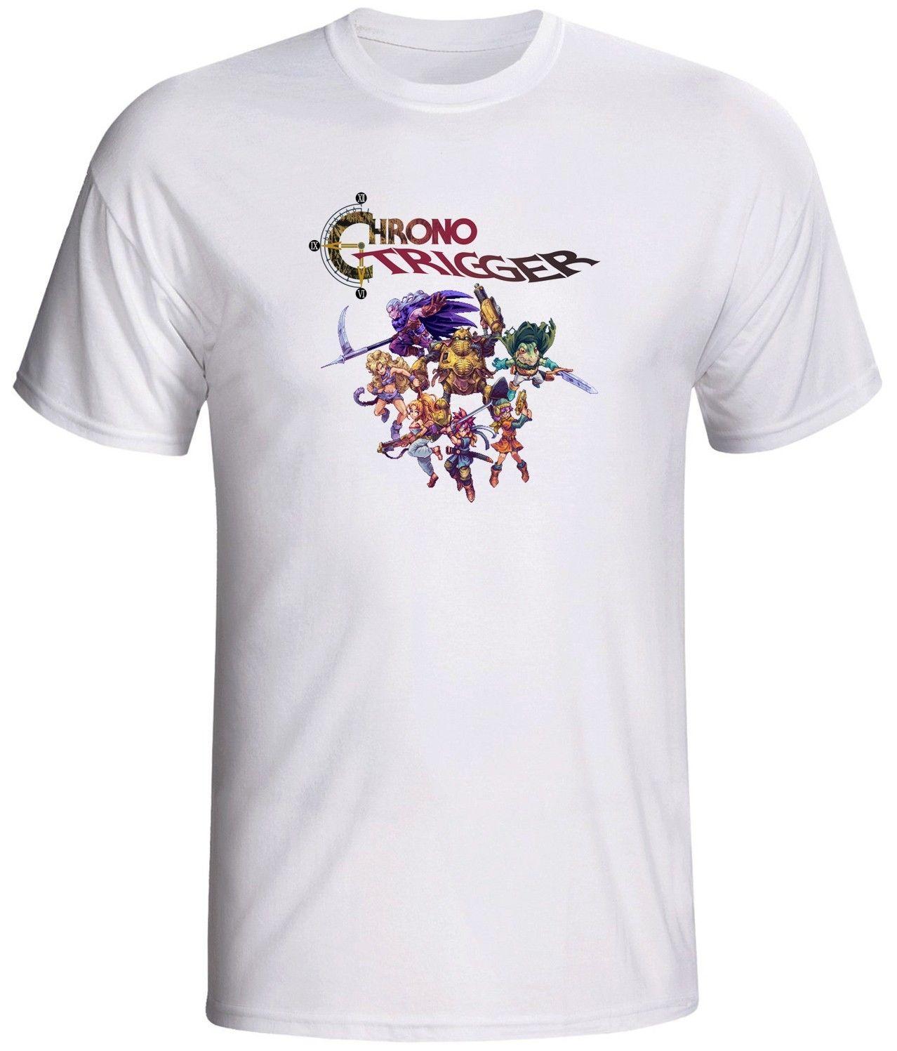 Chrono trigger gildan camiseta personajes de videojuegos