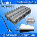Lintratek 4G LTE TDD 2300 MHz Telefones Celulares Sinal De Reforço 65dBi 4G 2300 mhz Celular Repetidor de Sinal Amplificador Kits Completos S35
