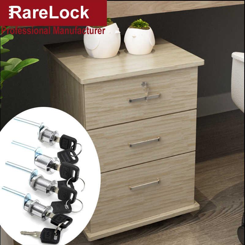 Rarelock MS541 замок шкафа ящика для офиса мебель стол дома рядом стол книжный шкаф ящик для инструментов Consle Школьный шкафчик аппаратные средства h