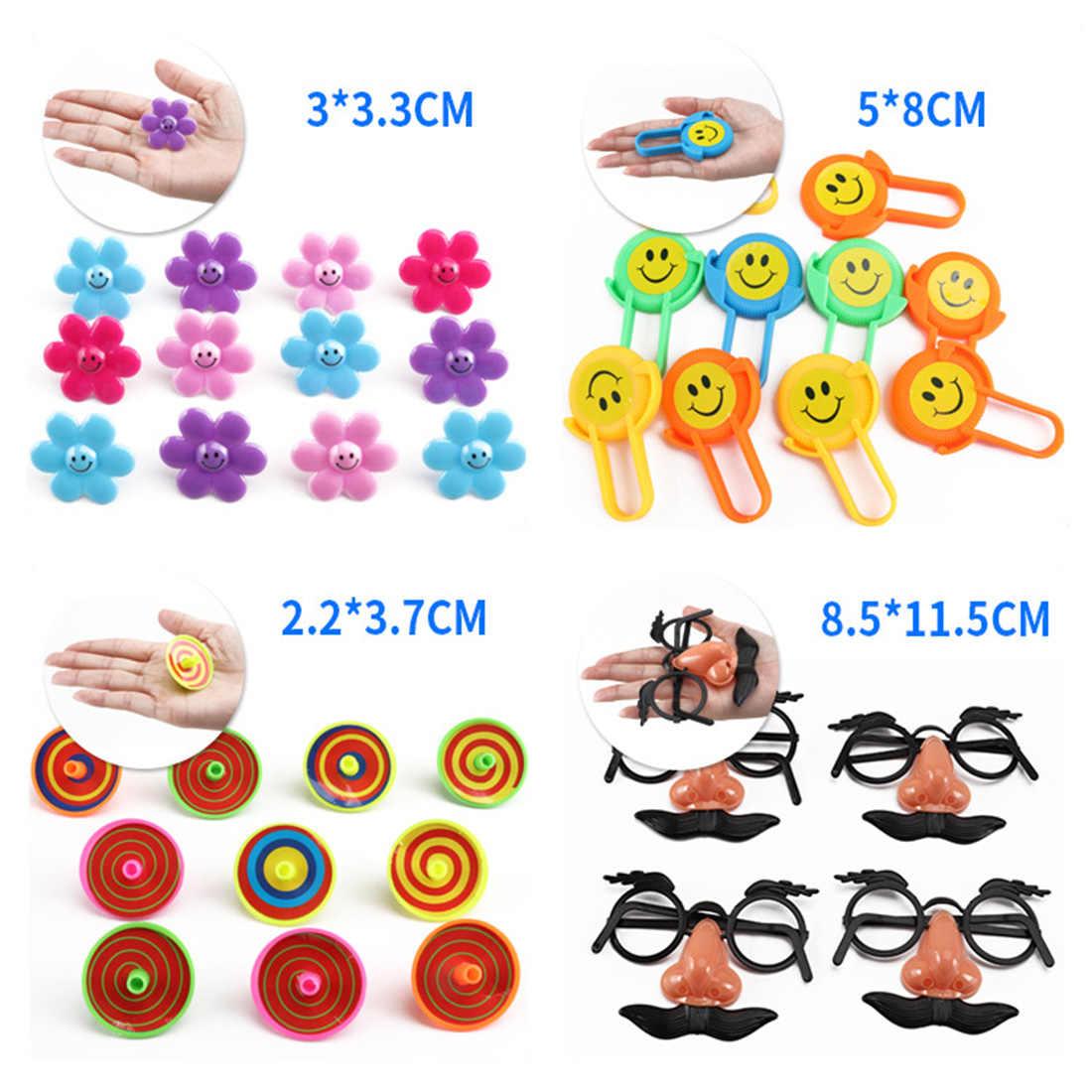 100 шт. детский день рождения подарки призы Ассорти маленькие игрушки Набор Дети партия подарки для детей подарки на день рождения 2018 Новый