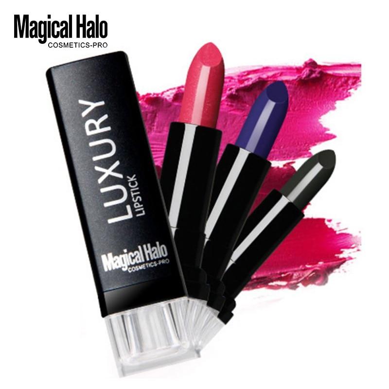 Mágikus Halo rúzs szépségápoló kozmetikai smink tartós vámpír sötét lila piros rózsaszín színű ajakpecsét ajak árnyalat alkotó MH1607